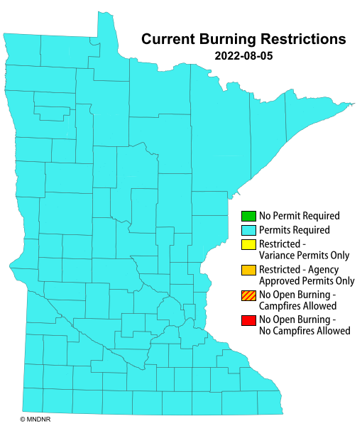 Minnesota Current Burning Restrictions
