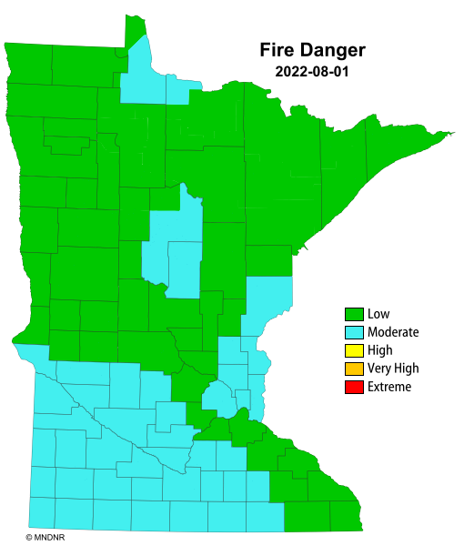 Fire  Conditions Minnesota