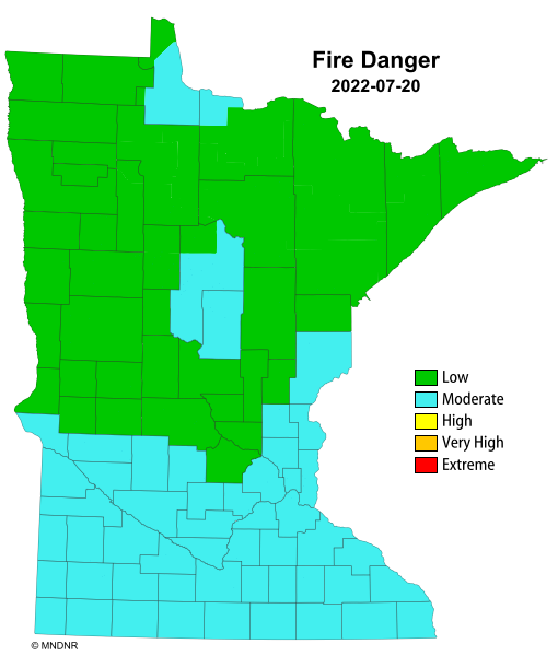 Fire Danger Rating Map