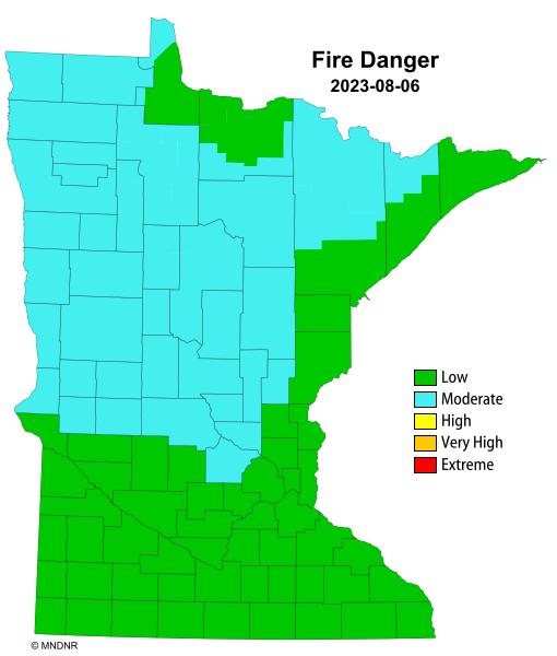 Minnesota Fire Danger Rating